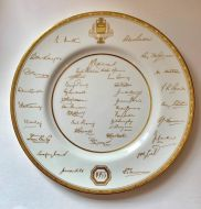 Royal Worcester Plate - Ashes 1953