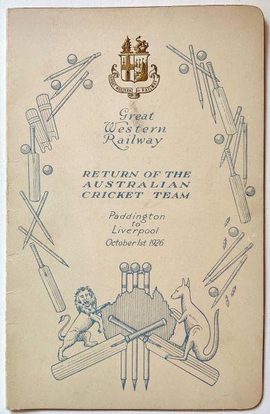 Australian Tour of 1926