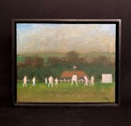 A Village Cricket Match  by Michael Whittlesea