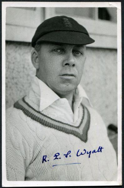 Wyatt, R E S (Warwickshire, Worcester & England)