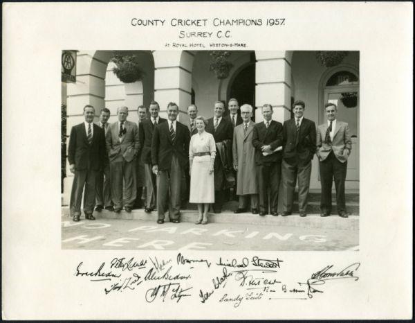 Surrey CCC, 1957