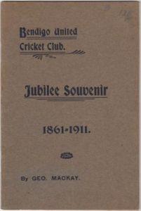 Mackay G - Bendigo United Cricket Club