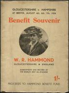 WR Hammond Benefit Souvenir