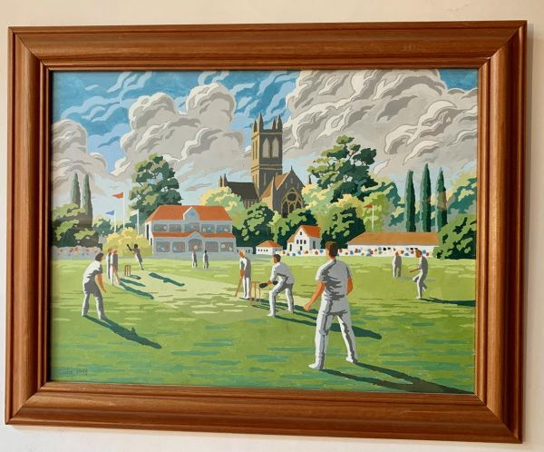 "A Cricket Match (1998) by ""Claire"""
