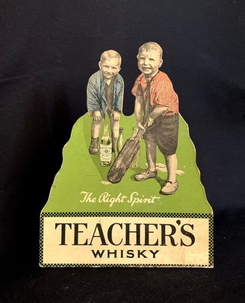 Teacher's Whiskey Advertsing Board - The Right Spirit