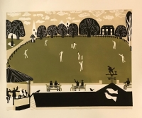 The Vine Cricket Ground, Sevenoaks by Melvyn Evans