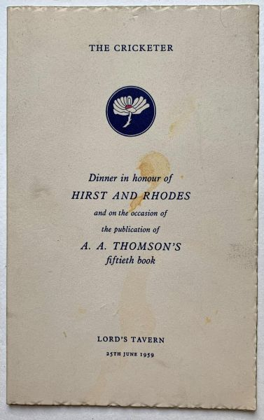 Hirst & Rhodes Book Launch