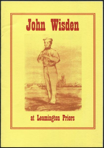 John Wisden and his time in Leamington Priors