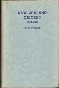 Reese, TW: New Zealand Cricket Vol 2