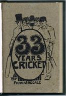 Iredale F - 33 Years of Cricket