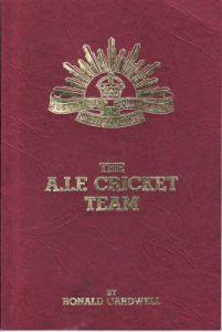 Cardwell, R: AIF Cricket Team, The