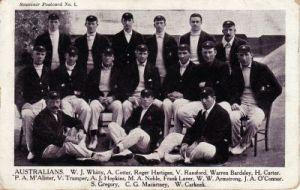 Australian Team 1909