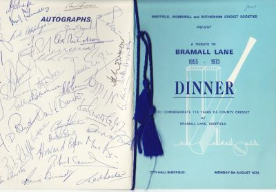 Yorkshire CCC: A Tribute to Bramall Lane