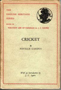 Cardus, N:  Cricket