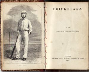 Pyecroft, Rev.J: Cricketana