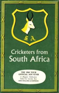 Cricketers from South Africa 1960