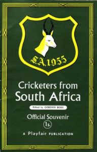 Cricketers from South Africa 1955