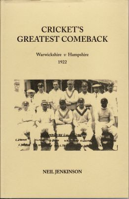 Jenkinson, N: Cricket's Greatest Comeback