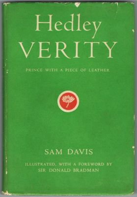 Davis S - Hedley Verity Prince with a Piece of Leather