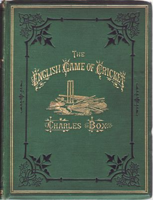 Box, C: English Game of Cricket, The