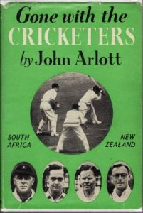 Arlott, J:  Gone with the Cricketers