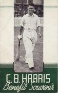 Harris, CB (Notts CCC) Benefit Souvenir