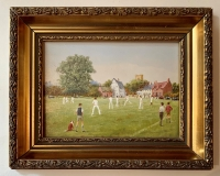 The Cricket Match by Richard Rhead Simm