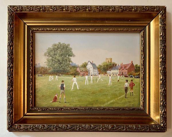 The Cricket Match by Richard Rhead Simm