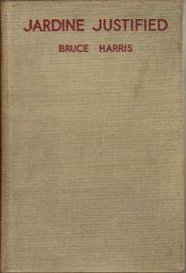Harris, B : Jardine Justified