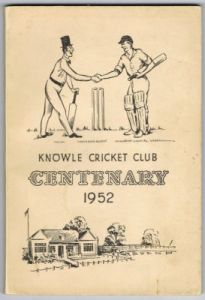 Knowle Cricket Club Centenary 1952