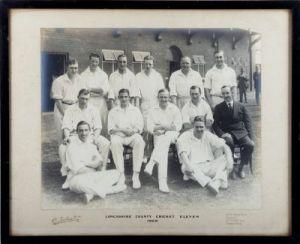 Lancashire Cricket Eleven 1929