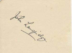 Langridge, J G (Sussex)