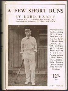 Harris, Lord - A Few Short Runs
