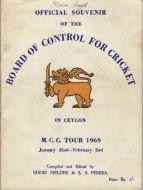 MCC to Ceylon 1969