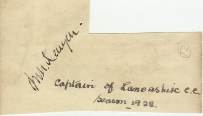 Kenyon, M (Lancs)