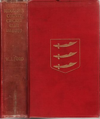 Ford, WJ: Middlesex County Cricket Club 1864-1899