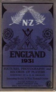 New Zealand to UK 1931