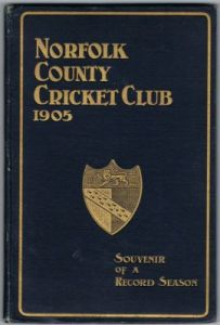 Norfolk County Cricket Club 1905