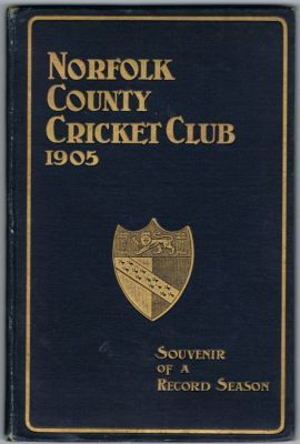 Norfolk County Cricket Club 1905