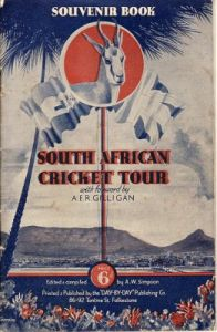 South Africa to UK 1935