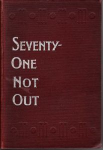 Caffyn, W:  Seventy-One Not Out