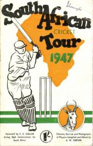 South African Cricket Tour 1947