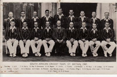 South Africa Touring Team 1947