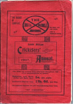 South African Cricketers' Annual 1907