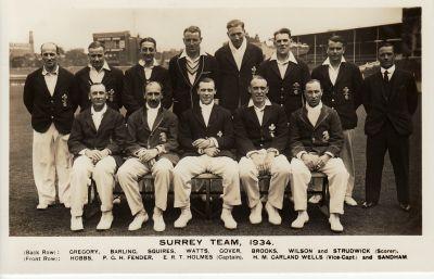 Surrey CCC 1934