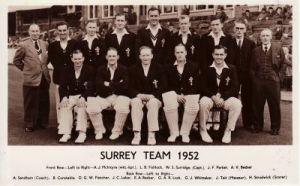 Surrey CCC 1952