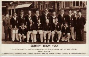Surrey CCC 1955