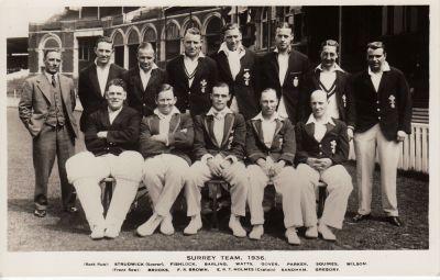 Surrey CCC Team 1936
