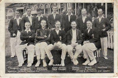 Surrey CCC c.1926
