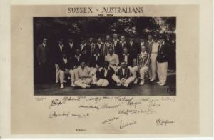 Sussex v Australia, August 1926